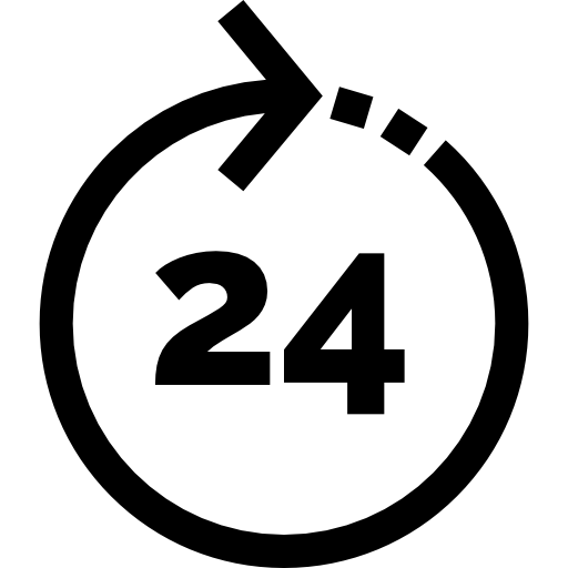 Réactivité 24h / 24h